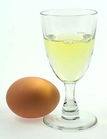 blanc d'œuf