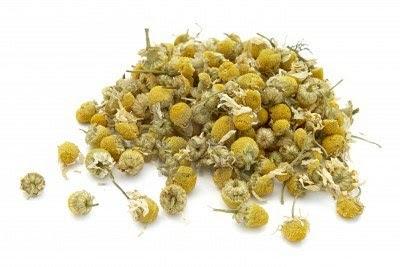 camomille fleurs sèches