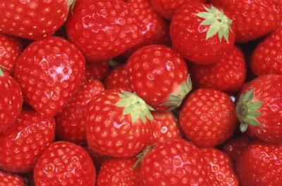 Masque pour visage au fraises