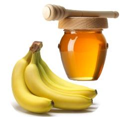 Masque pour visage au miel et à la banane